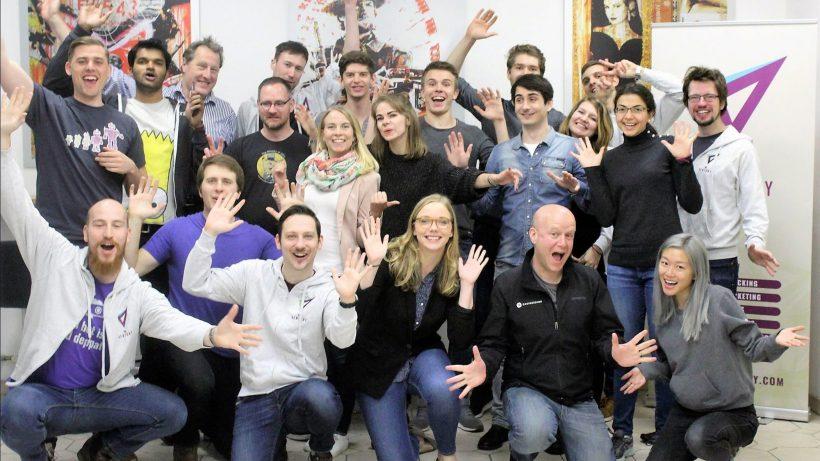 Im Elevate-Accelerator: Alle zusammen Hände hoch! © Elevate