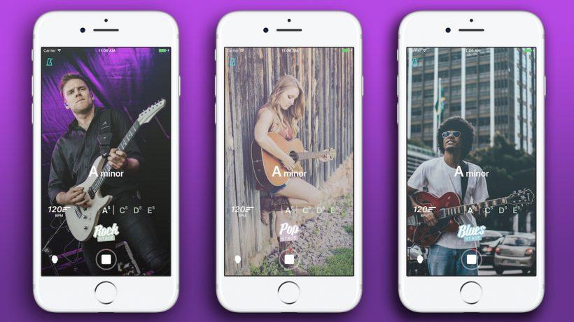 Die neue App für Gitarrenspieler. © Fretello/Montage Trending Topics