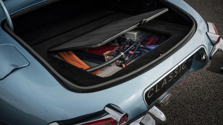 Jaguar E-type Zero. © Jaguar Land Rover