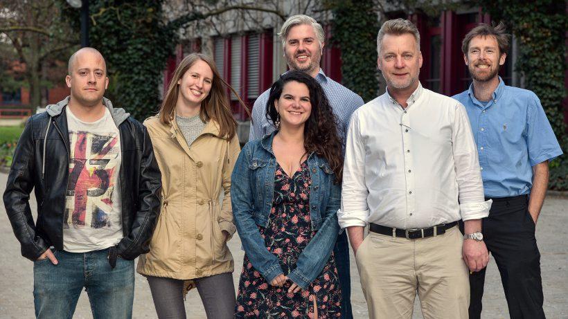 Das Team von KIVU Technologies. © Andreas Penkler/KIVU Technologies