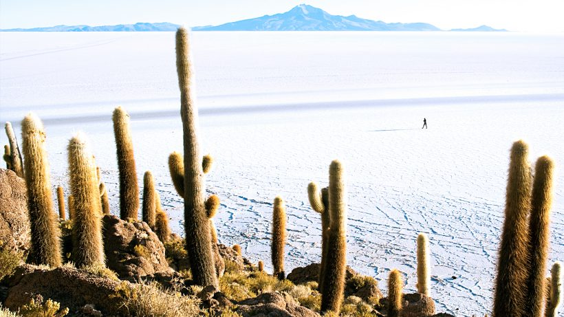 Reich an Lithium: Salzwüste Salar de Uyuni in Bolivien. © Dimitry B./Flickr (CC BY 2.0)