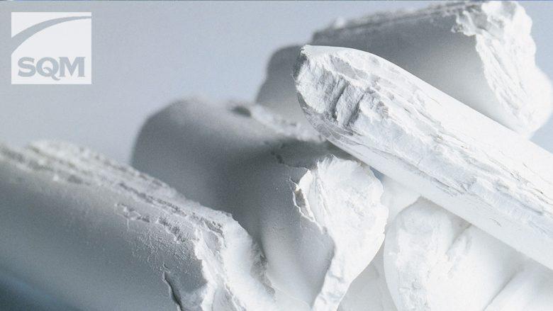 Lithiumcarbonat. © SQM