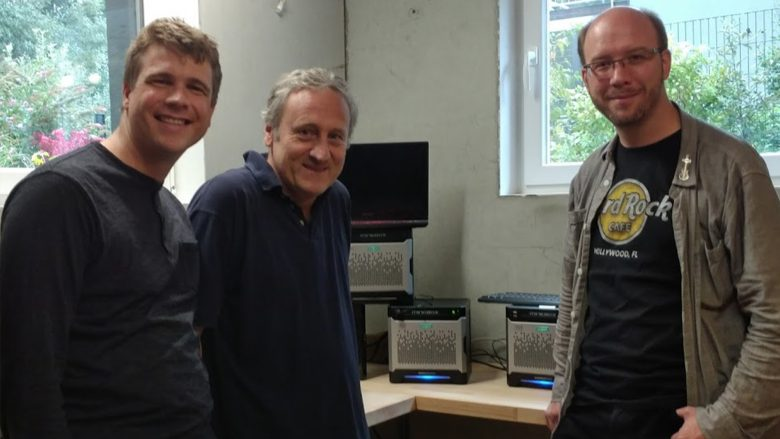Das Minebox-Team: Andreas Petersson, Corneliu Andrei Robert Kaiser. © Linus Petersson