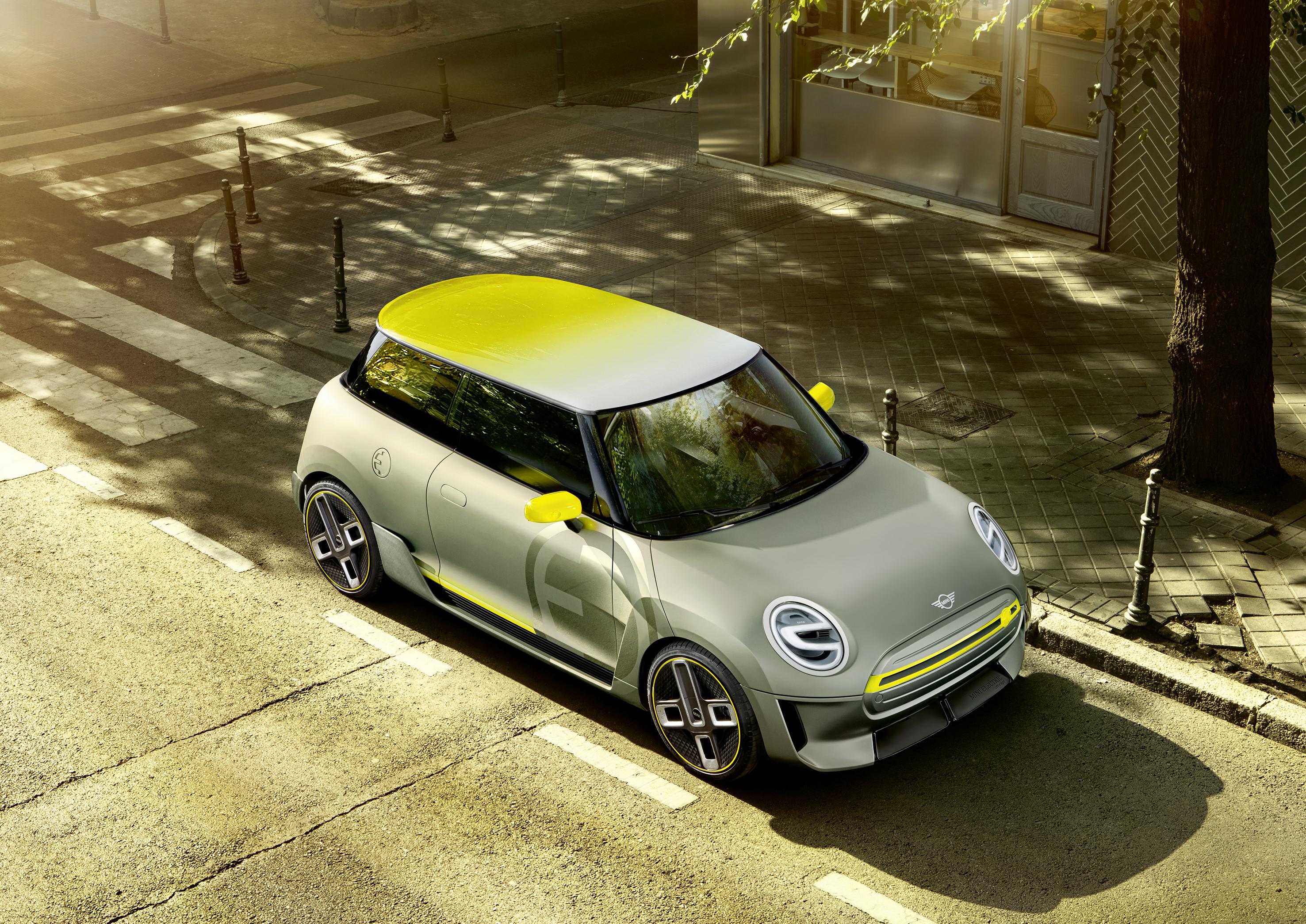Elektro-Konzept des Mini. © BMW Group