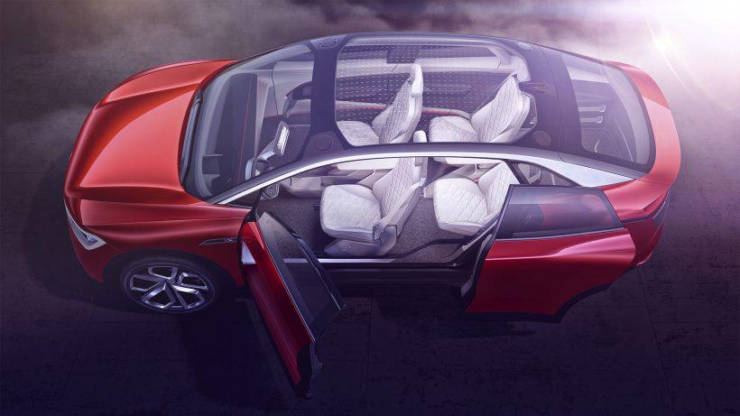 Der VW I.D. Crozz soll 2020 auf den Markt kommen. © VW
