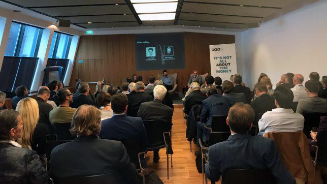 50 Investoren saßen im Publikum. © aaia