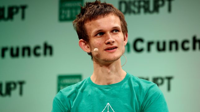 Ethereum-Erfinder Vitalik-Buterin auf der Techcrunch Disrupt. © Techcrunch/Flickr (CC BY 2.0)