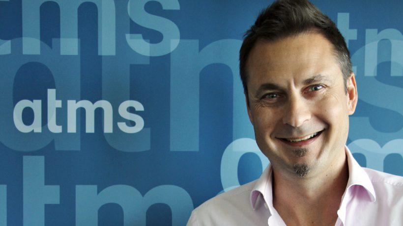 atms-Geschäftsführer Markus Buchner. © atms