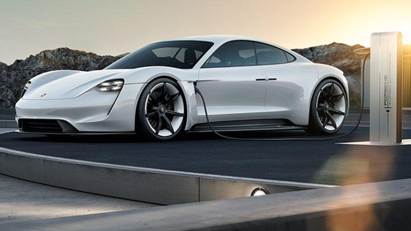 Der Porsche Mission E. © Porsche AG