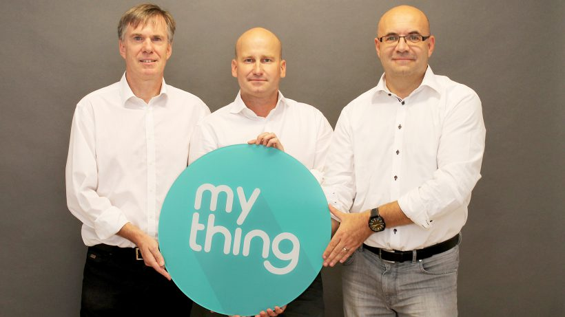Gerhard Pail, Florian Mott und Frank Kappe von mything. © mything.com
