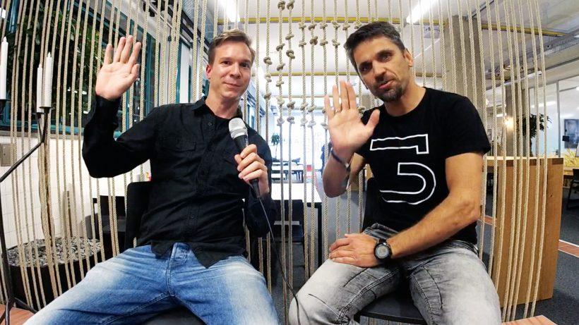 Jakob Steinschaden von Trending Topics mit Business Angel Michael Altrichter. © Trending Topics