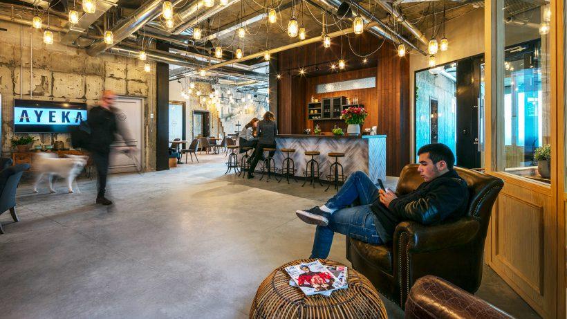 Coworking Space Ayeka in Tel Aviv. © Ayeka