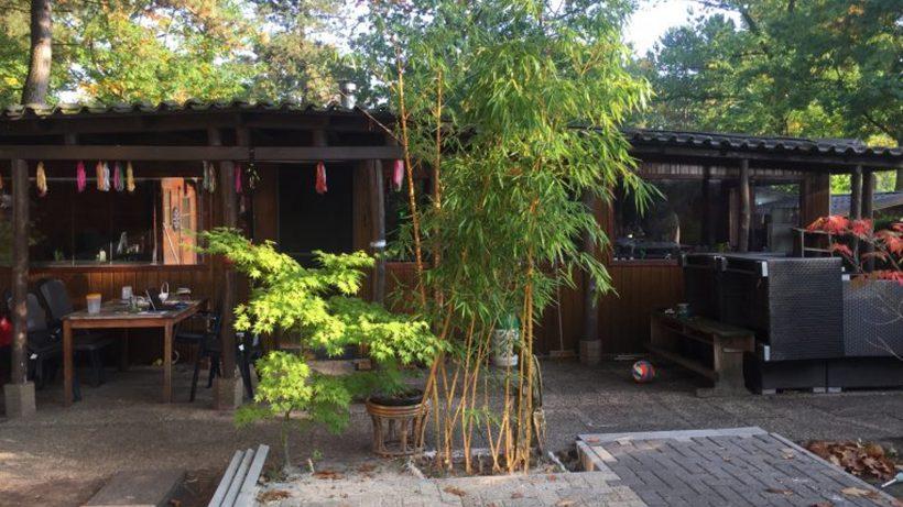 Die neue Blockhütte der Familie Taihuttu. @ Privat