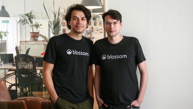 """Alan Berger und Thomas """"Tosh"""" Schranz von Blossom. © Alan Berger"""