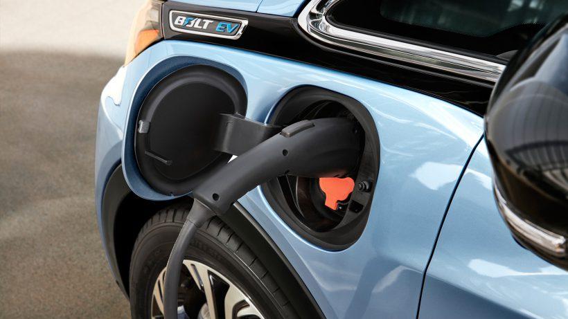 Ladekabel am Chefy Bolt EV. © General Motors