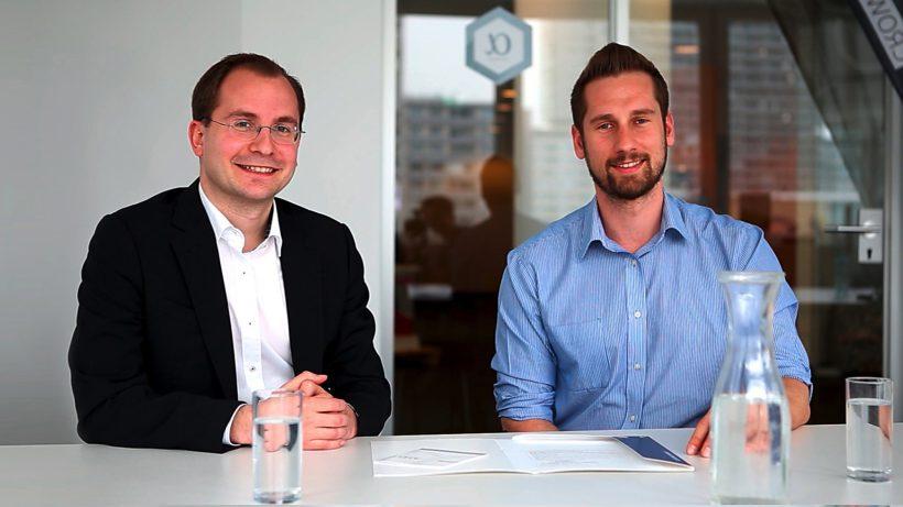Die beiden Conda-Gründer Paul Pöltner und Daniel Horak. © Conda