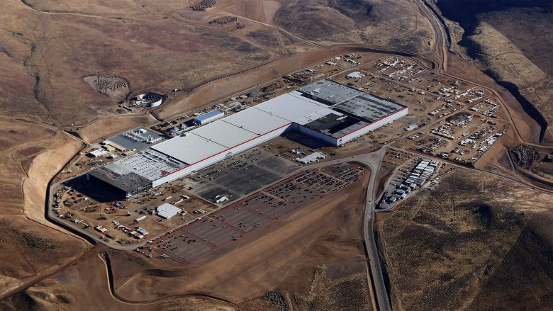 Teslas Gigafactory in Nevada. © Tesla Motors
