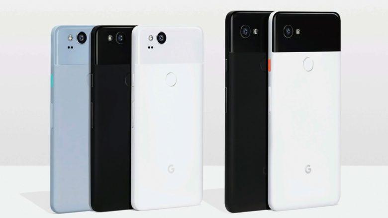 Das Google Pixel 2 und das Pixel 2 XL. © Google