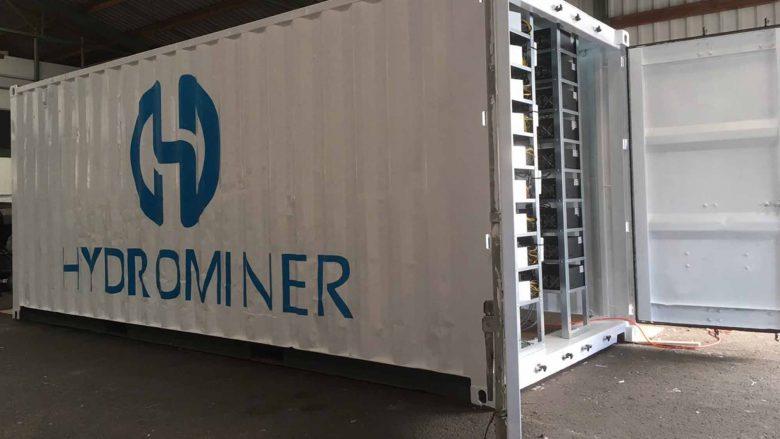 Minen im Container. © Hydrominer