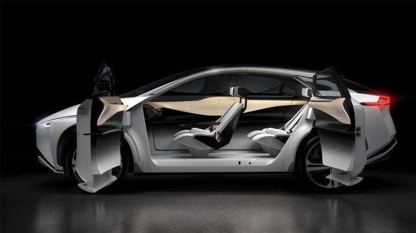 Das Konzept-Auto IMx von Nissan. © Nissan