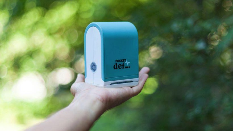 So sieht der Prototyp des PocketDefi aus. © Liimtec