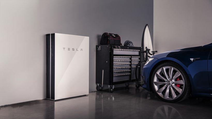 Powerwall-System von Tesla. © Tesla Motors