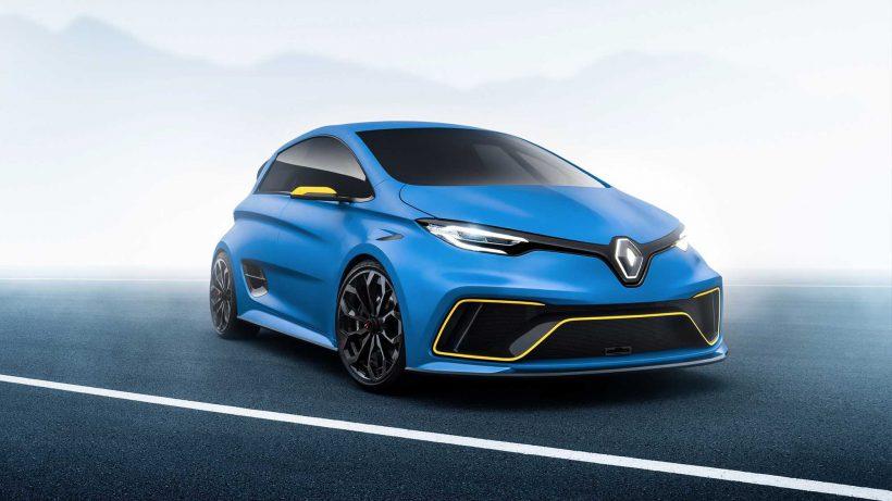 Der Renault Zoe als e-Sport Concept. © Groupe Renault