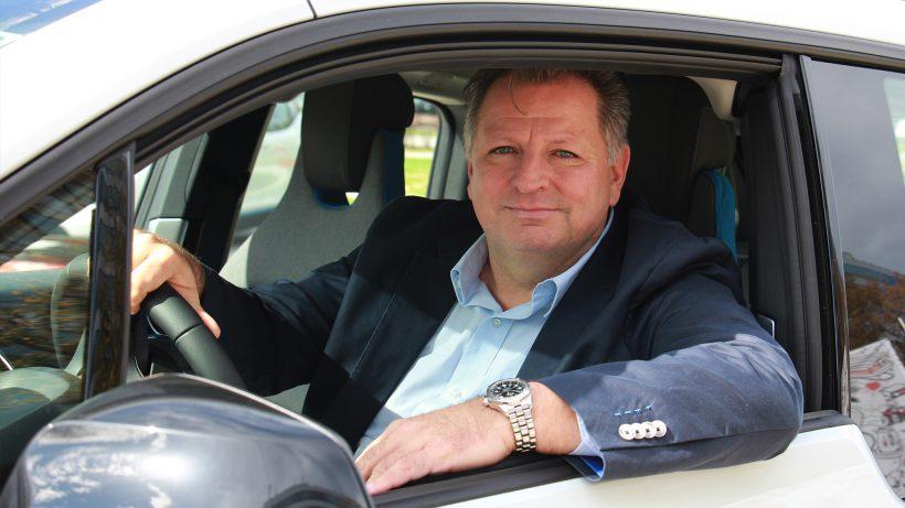 Roland Ziegler, Sprecher des Bundesverband Elektromobilität (BEÖ). © EVN