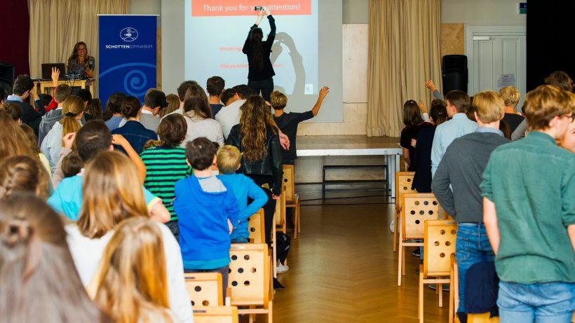 Startup-Unterricht am Wiener Schottengymnasium. © Philip Rusch