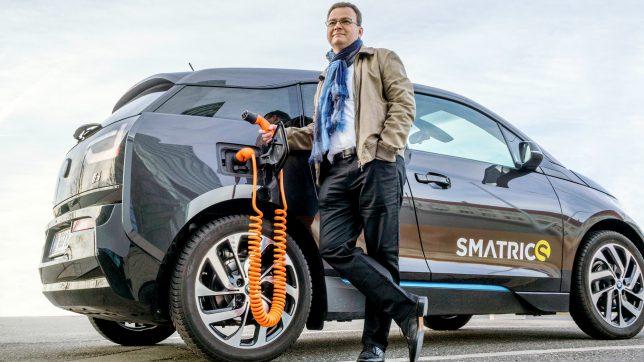 Smatrics-CEO Michael Fischer. © Smatrics