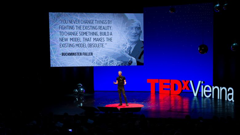 Ethereum-Mitgründer Gavin Wood. © TEDx Vienna