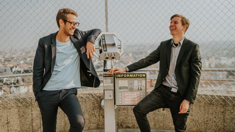 Bastian Kellhofer und Jakob Steinschaden von Trending Topics. © Raffael Stiborek