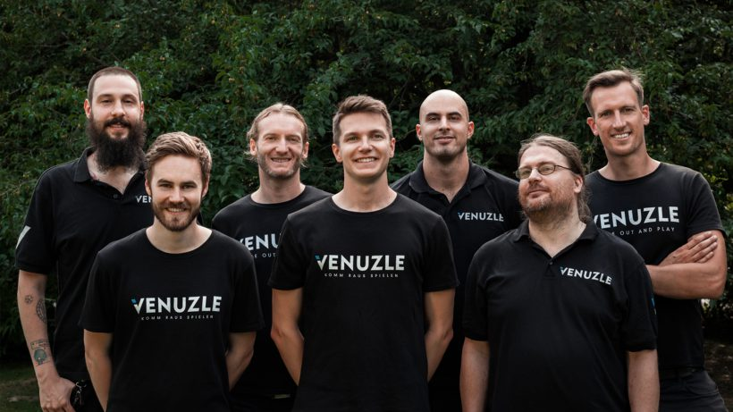 Das Venuzle-Kernteam. © Venuzle