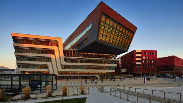 Der Campus der Wiener Wirtschaftsuniversität. © WU Wien