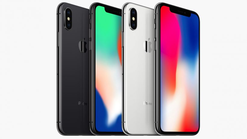 Apples iPhone X. © Apple