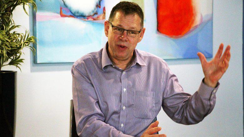 ARM-CTO Mike Muller. © Jakob Steinschaden