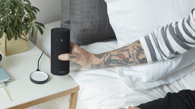 Amazon Tap mit integrierter Alexa-Sprachsteuerung. © Amazon