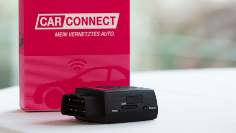 Der CarConnect-Stecker von T-Mobile. © T-Mobile Austria