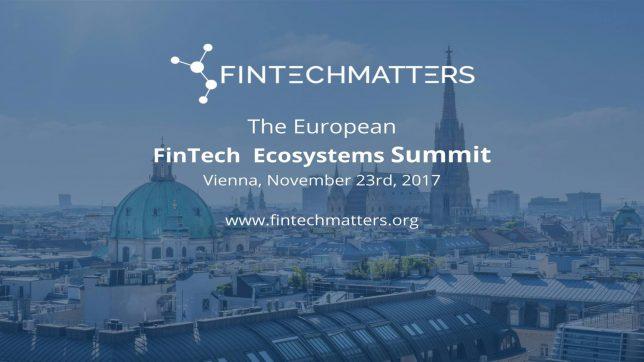Am 23. November findet Fintechmatters in Wien statt. © FINTECHMATTERS