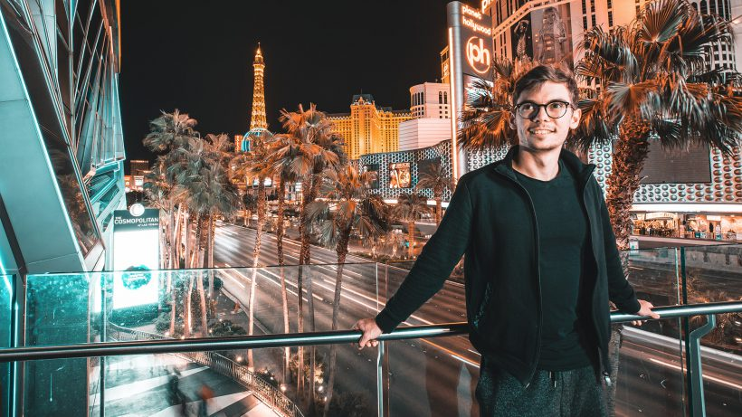 Fedor Holz in Las Vegas. © Primed Group