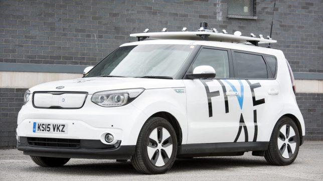 Britisches Startup FiveAI arbeitet an selbstfahrenden Taxis. © FiveAI