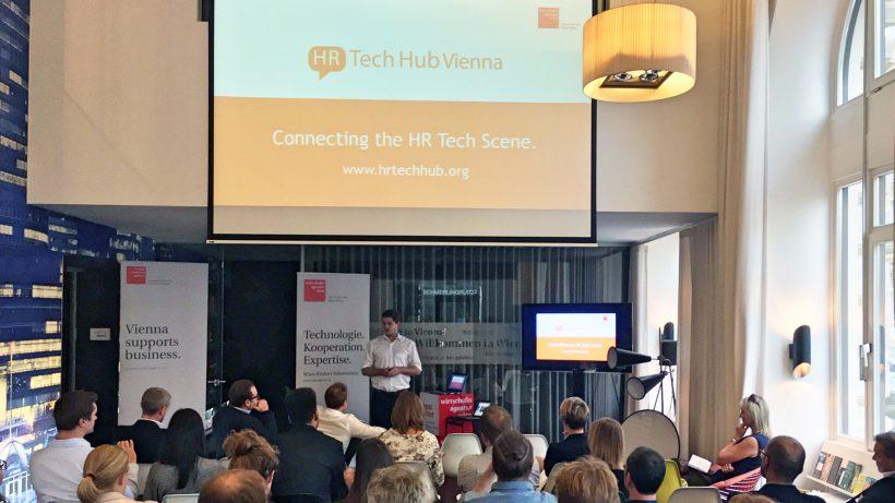 Präsentation des neuen Formats bei der Wirtschaftsagentur Wien. © HR-Tech Hub Vienna