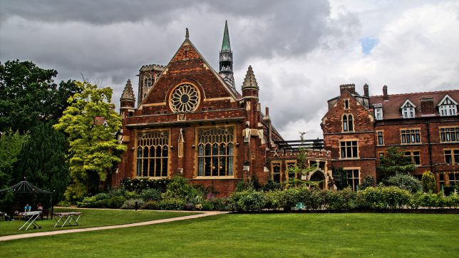 Das Homerton College in Cambridge. © Pixabay
