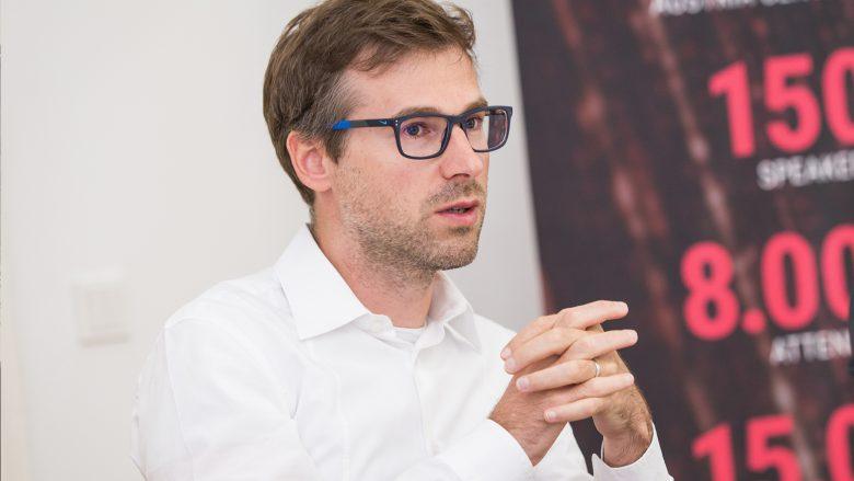 i5invest-CEO Herwig Springer. © Tamás Künsztler