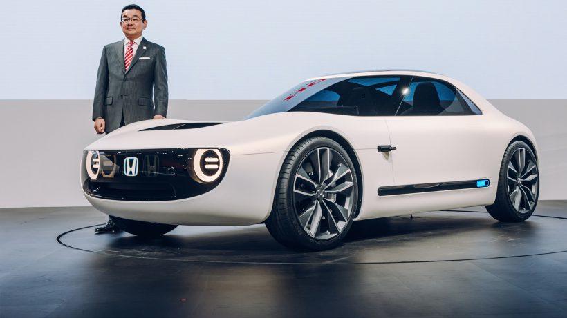 Sports EV Concept von Honda. © Honda