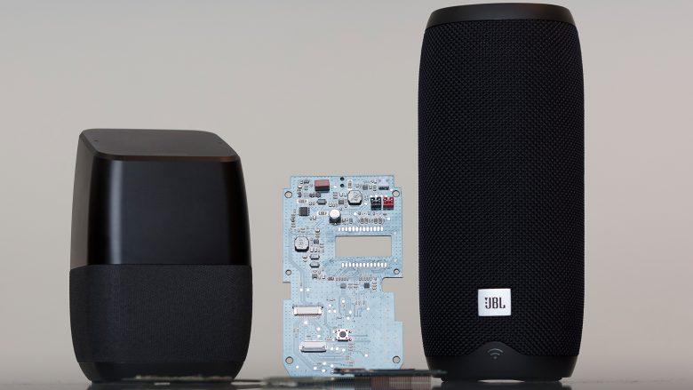 StreamSKD ist etwa in Lautsprechern von Insignia (L.) oder JBL (r.) verbaut. © Sebastian Philipp