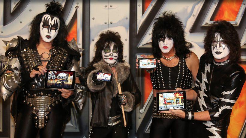 Kiss, eine der erfolgreichsten Rock-Gruppen des Planeten. © Sproing