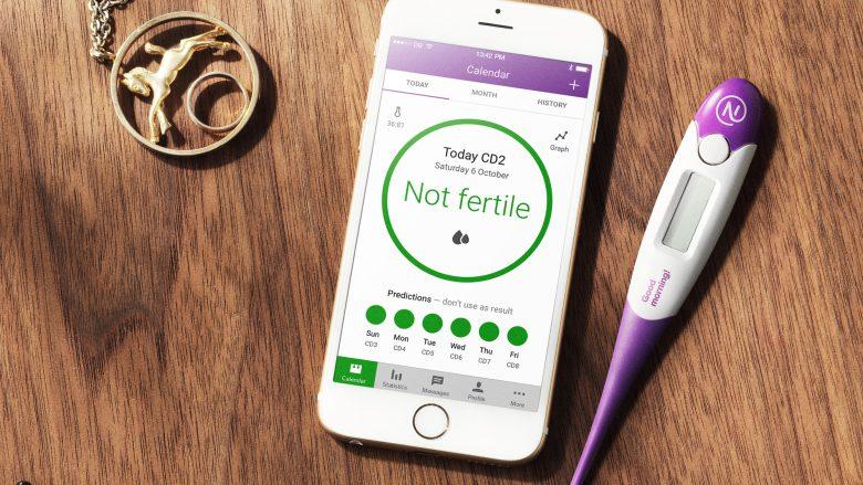 App zeigt, wann eine Empfängnis wahrscheinlich ist. © Natural Cycles