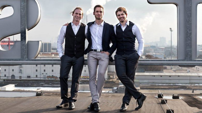 Matthias Rotter (CSO), Ilja Jochum (CEO) und Alexander Kniewallner (CTO) von Planery. © Planery