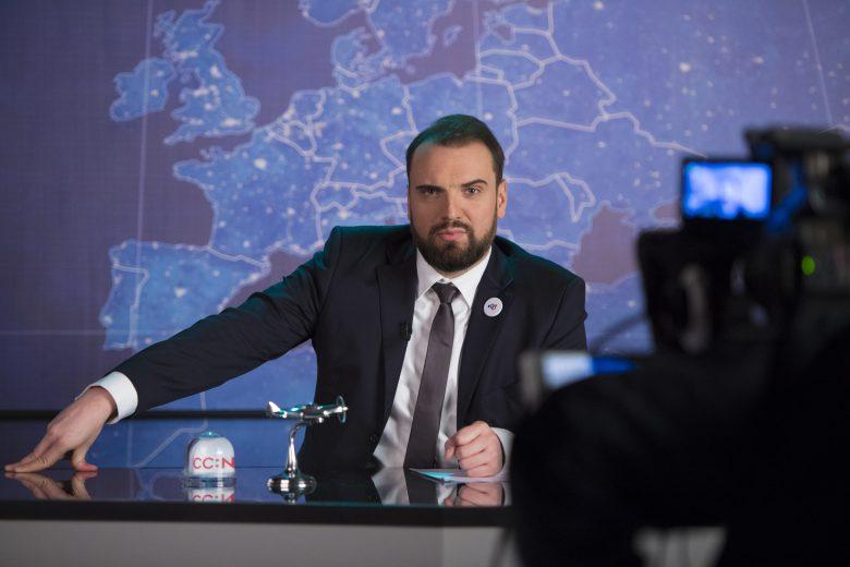 """© Viacom/Jens Jeske, Zweite Staffel """"CCN: Comedy Central News"""" im Frühjahr 2018"""